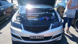 Honda Accord Euro CL9 Cold Air Intake - Brutal Revs!