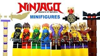 LEGO Ninjago vs Anacondrai Cultists KnockOff Minifigures Set 18 Review w/ Cole Kai Jay Lloyd