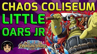 Walkthrough for Complete Little Oars Jr. Chaos Coliseum [One Piece Treasure Cruise]