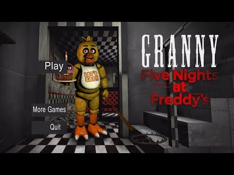 Xxx Mp4 GRANNY IS CHICA Granny Horror Game FNAF Mod 3gp Sex