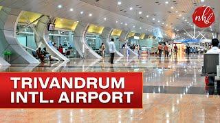 2017 Trivandrum International Airport & Dubai International Airport