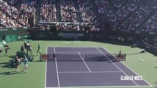 Novak Djokovic vs Nick Kyrgios - Indian Wells 2017 (HD)