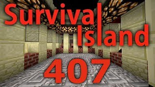 Minecraft- Survival Island [407] Too Many Villagers!!!