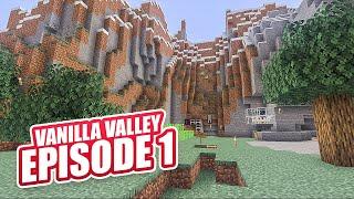 Let's Go! Vanilla Valley | Minecraft Online Survival Timelapse Season 1 Episode 1 | GD Venus |