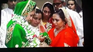Aziz weds sakina badaai