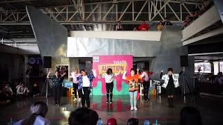 180527 YokoAn Audition B-Day 12th - R.U.N cover BTS - Fire