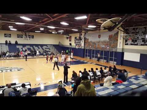 Douglass Eagles @ Largo Lions (Girls Varsity 2016-17 Season)