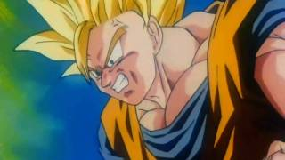 Dragon Ball Z - Goku Turns Super Saiyan 3 for the First Time {1080p HD}