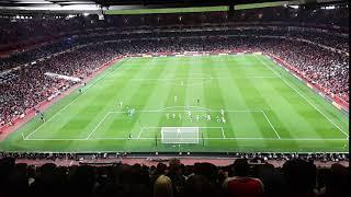 Arsenal v. Vorskla Poltava (20180920) – Torreira free kick