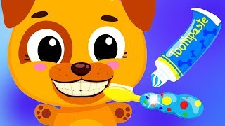 Fun Animal Pet Care - Baby Learn Daily Routines Brush Teeth - Cute & Tiny Kids Educational Apps