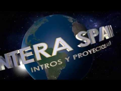 UNIVERSAL STUDIOS Intro free edit CINEMA 4D R14 PANTERA SPAIN GINO