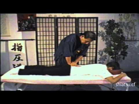 Shiatsu Massage on Gurney - Japanese Massage (Namikosh techniquei)
