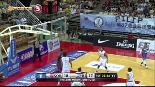 Philippines vs. Korea - Q1 | JONES CUP 2015