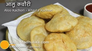 Aloo Kachori Recipe - Potato Masala Stuffed Kachori