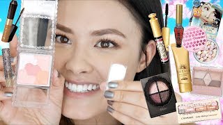 Trying a TON of JAPANESE Makeup for the First Time | Full Face of First Impressions!