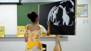 Speed Painting - Prepageant Talent 2011