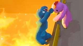 MY GIRLFRIEND OR MY LIFE! (Gang Beasts)