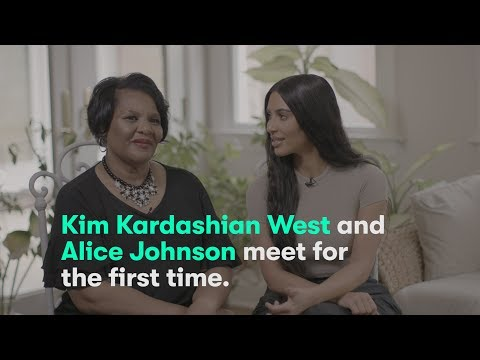 Xxx Mp4 Kim Kardashian West Meets Alice Marie Johnson For The First Time 3gp Sex