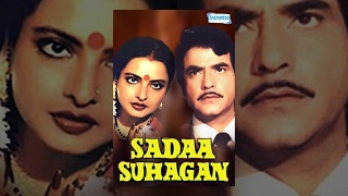 Sadaa Suhagan (1986) - Hindi Full Movie - Jeetendra - Rekha - Govinda - 80's Superhit Movies