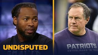 Josh Norman talks New England's offseason moves, Brady vs. Rodgers and more | UNDISPUTED