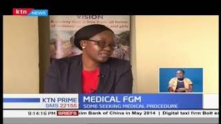 Medical FGM considered safer and painless as some seeking the Outlawed procedure