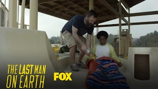 Tandy Helps Jasper With His Oil Slide   Season 3 Ep. 17   THE LAST MAN ON EARTH