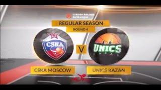 Highlights: CSKA Moscow-Unics Kazan