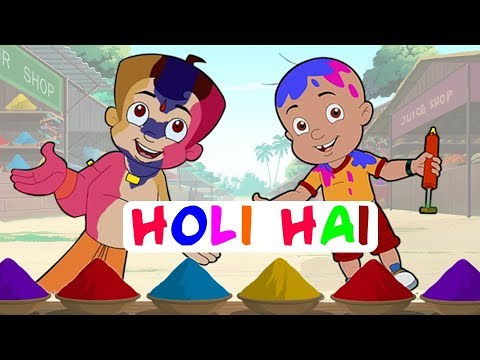 Khelenge Hum Holi - Special Video with Chhota Bheem, Mighty Raju & Krishna Balram