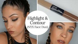Highlight & Contour (NYX Face Duo)