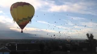 Hot air baloon sighting
