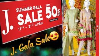 J. Summer Gala Sale Upto 50% off ||J. Summer Gala Sale 2019 ||j. sale 2019