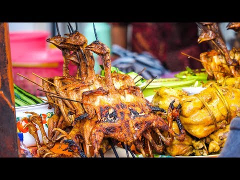 Indonesian Street Food at Gianyar Night Market in Bali ALL FOOD FOR ONLY 5.07