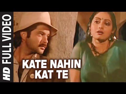 'Kate Nahin Kat Te'  Full VIDEO Song -  Mr. India   Anil Kapoor, Sridevi