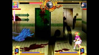 Mugen Tournament AI 9 DQ5 Daughter vs Syous Fight 9