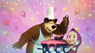 Masha and bear cooking soup game 마샤와곰 죽 만들기 게임