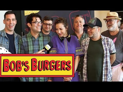 Cast of 'Bob's Burgers' Picks Their Favorite 'Burger of the Day' - SDCC