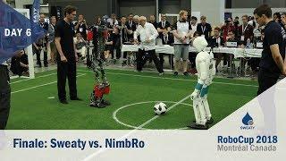 Tag6 : Finale | Sweaty vs. NimbRo | RoboCup 2018 Montréal | Sweaty