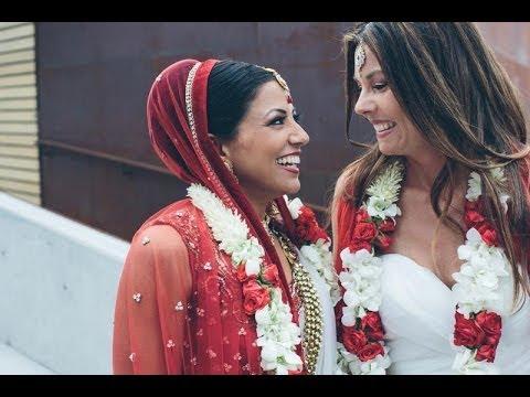 Xxx Mp4 Shannon Seema Lesbian Indian Wedding Goes Viral 3gp Sex