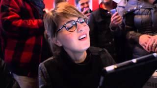 SPECIALE Paola Cortellesi all'Edicola Fiore