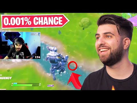 Reacting to the UNLUCKIEST Fortnite Moments