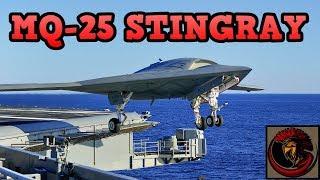 "The MQ-25 ""Stingray"" - U.S. Navy Fuel Drone"