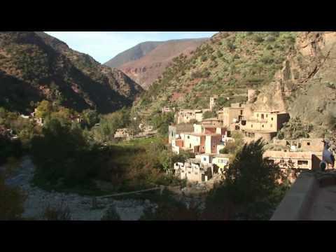 Marokkos Süden von Essaouira nach Marrakech und durch das fruchtbare Ourika Tal HD