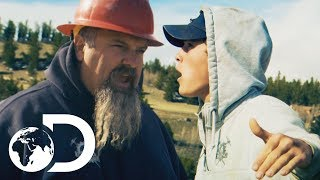 Gold Rush | SEASON 8 | Hoffman Regrets Promoting His Son to Run Monster Red