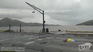 09-07-2017 St.Thomas,USVI Hurricane Irma aftermath damage and destruction