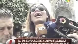 """Florencia de la V, quebrada de dolor: """"Jorge Ibáñez me salvó. ¡Tengo partido el corazón!"""""""