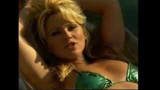 Tatjana Simic, green bikini