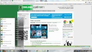 Convertir une vidéo YouTube (.flv) à .mp4