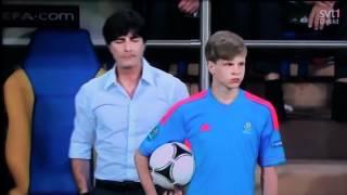 Joachim Loew and Ball Boy (Euro 2012) HILARIOUS (FULL HD) Germany vs. Netherlands (FUNNY JOKE)