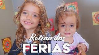 ROTINA DE FÉRIAS DAS CRIANÇAS | O LOMBO NINJA | Daily Vlog Família - Tiago e Gabi 795