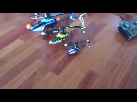 BLADE RC HELICOPTER LINEUPS / UNCUT - 1MSTV - HD